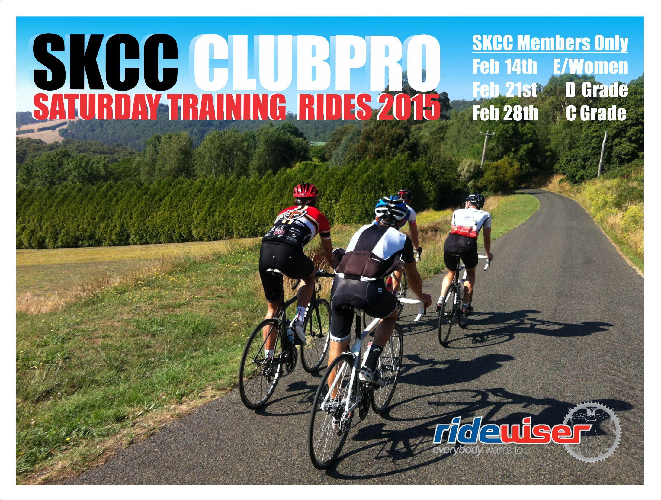 RW Ergo Slide SKCC ClubPRO Rides Feb 2015