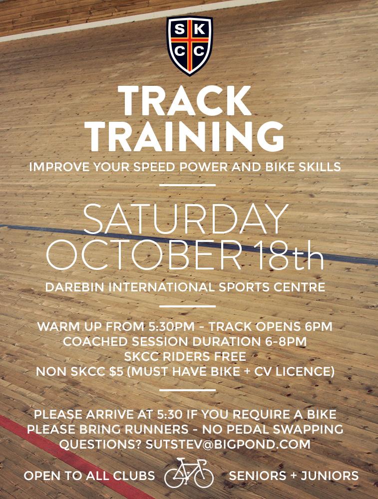 SKCC Track 18th-Oct 2