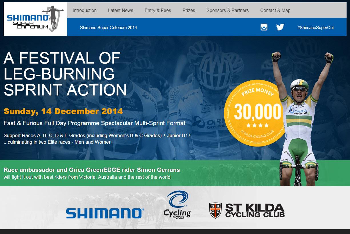 Shimano SKCC Super Crit 2014