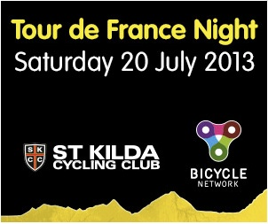 Tour de France Night – Saturday 20 July