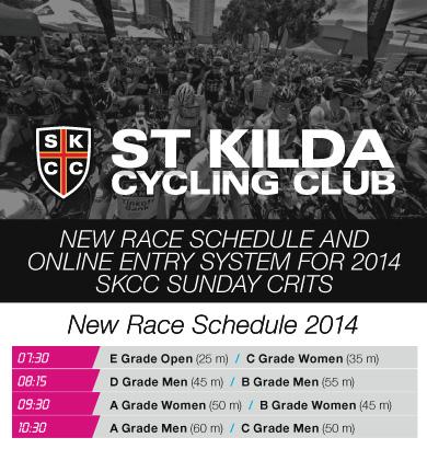 42557 - New Race Schedule