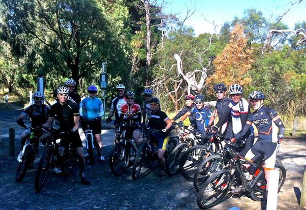 SKCC intermediate MTB skills coaching session with Ride International