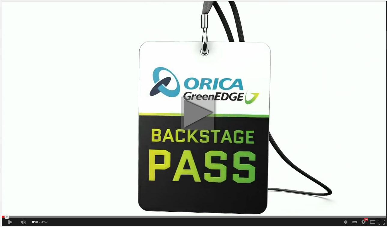 Orica Green Edge SKCC Super Crit Backstage 2014