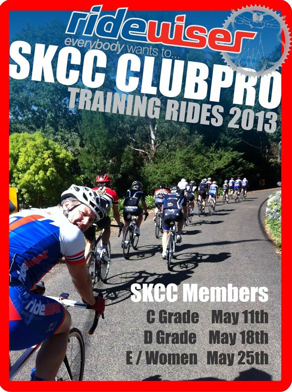 SKCC ClubPRO Training Ride #18- E Grade & Women