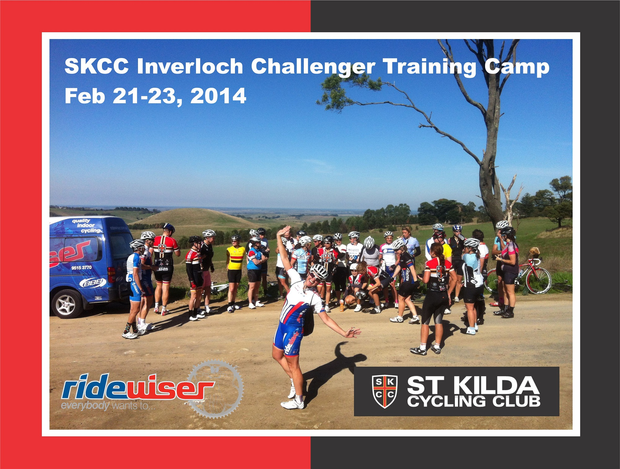 SKCC – Ridewiser Inverloch Challenger 2014 Cycling Development Training Camp