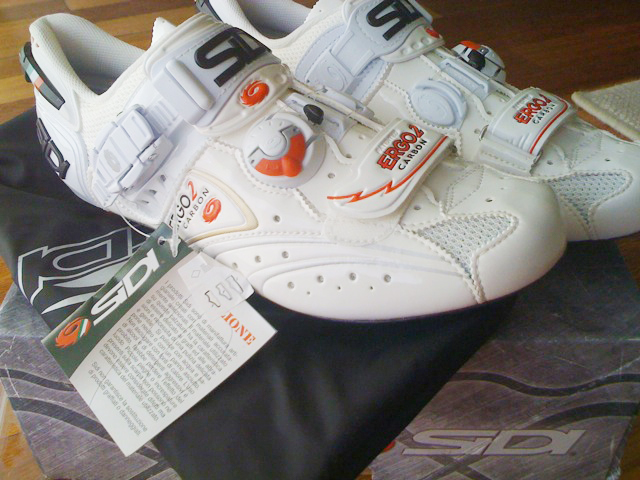 2010 Sidi road shoes