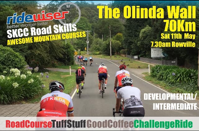 Ridewiser Road Ride – The Olinda Wall